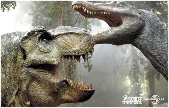 Tiranosaurus Rex contra Spinosaurus
