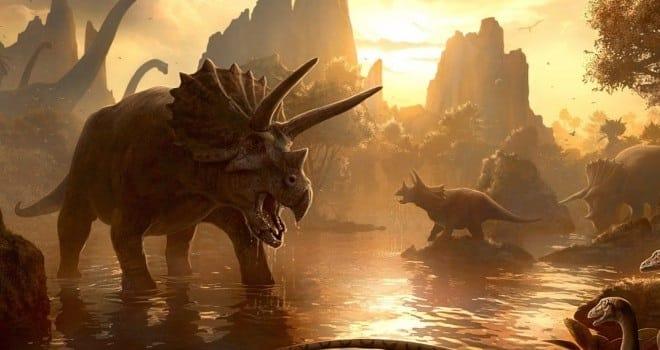 historia y vida de los dinosaurios