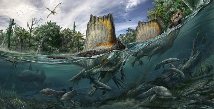 Habitat del Spinosaurus