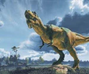 Soñar con tyrannosaurus rex