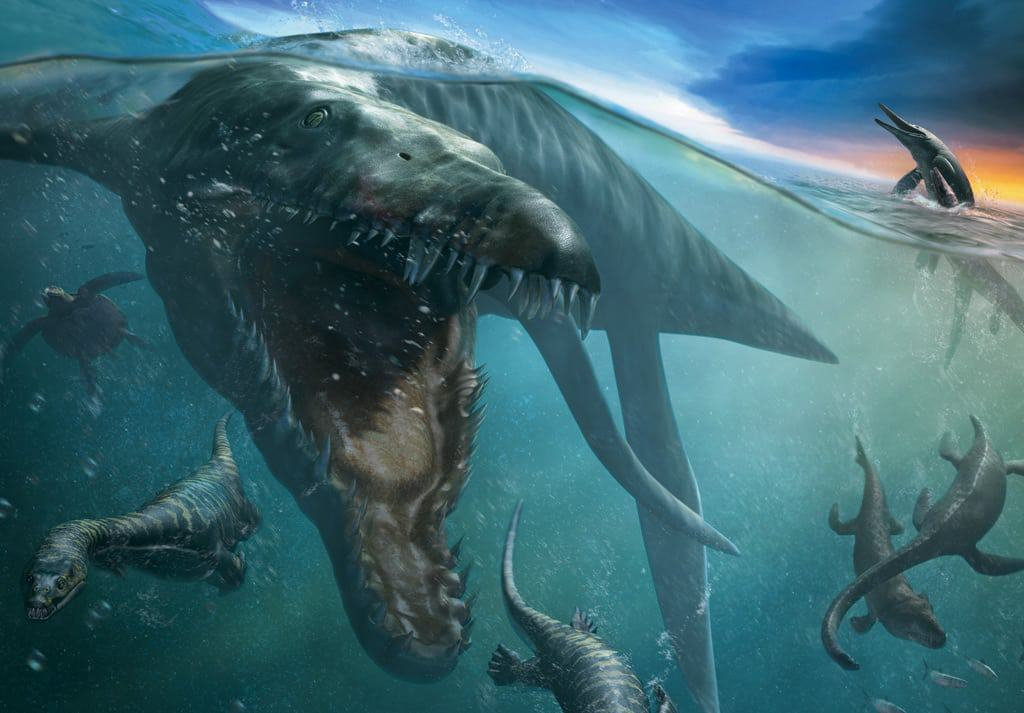 reptiles-marinos-gigantes-prehistóricos