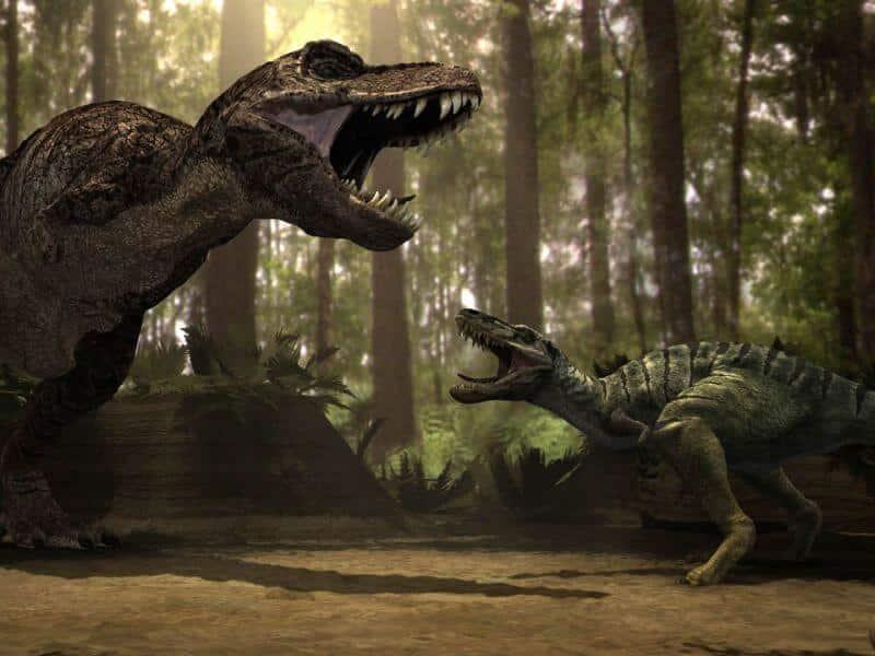 estilo de vida de los dinosaurios terrestres