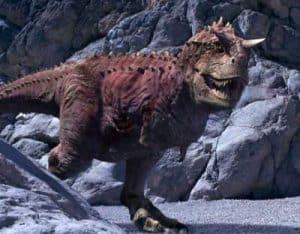 Carnotaurus al acecho