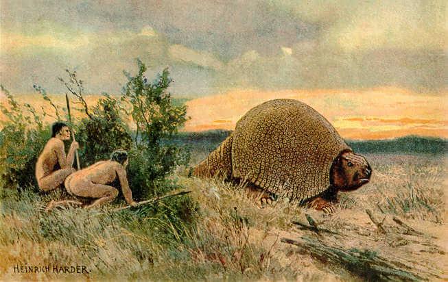 Glyptodon extincion