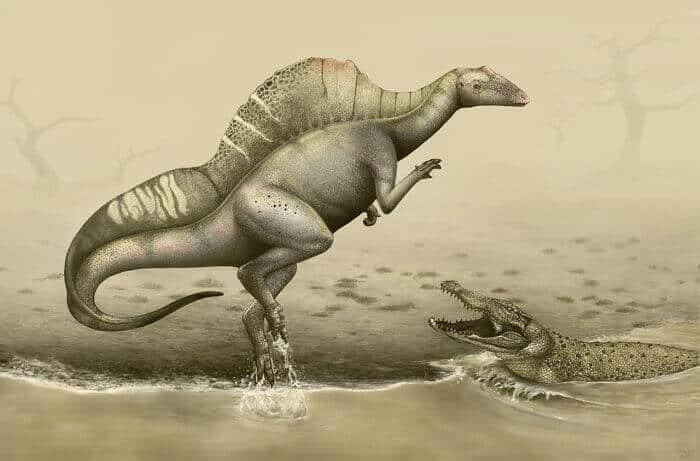 Dibujo de un Ouranosaurus