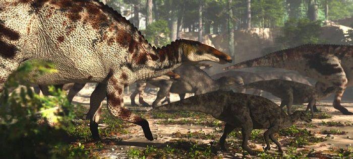Hábitat del Anatotitan