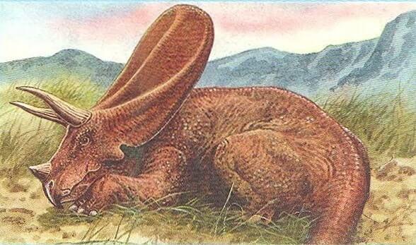Hábitat natural del Torosaurus