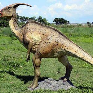 Parasaurolophus – dinosaurio herbivoro