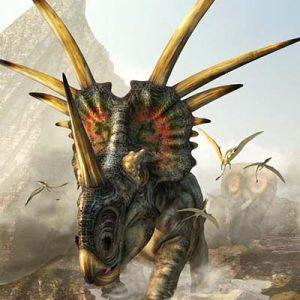 Styracosaurus – dinosaurio herbivoro