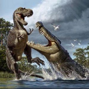 abelisaurus vs deinosuchus
