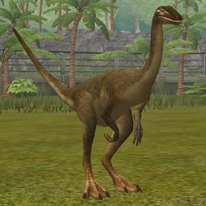 gallimimus – dinosaurio herbivoro